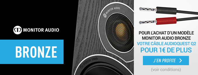 Monitor Audio Bronze : Votre c�ble Audioquest pour 1 � de plus