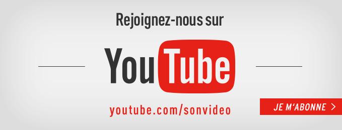 Abonnez-vous � notre cha�ne YouTube : Tutoriels, d�mos, reportages, etc.