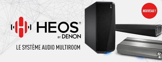 Denon Heos : Système audio multiroom
