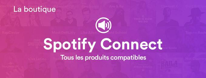Spotify Connect : Tous les produits compatibles