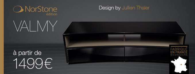 NorStone édition Valmy : Le meuble TV/vidéo fabriqué en France
