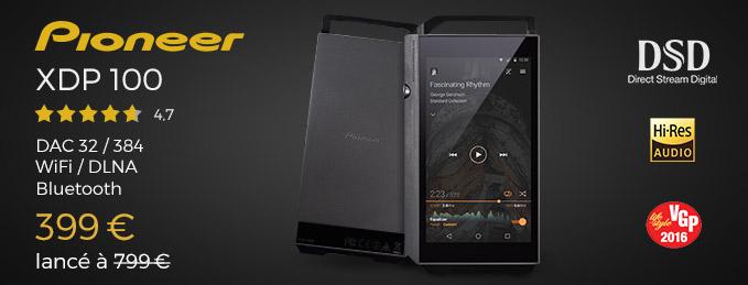 Pioneer XDP-100 : 32/384, WiFi, DLNA, Bluetooth apt-X