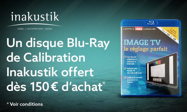 Votre disque de calibration vidéo pour 1 euro !