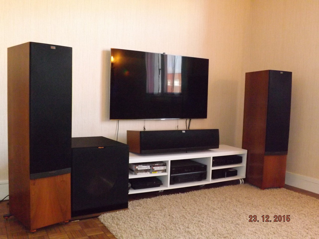 prix d'installation du son surround