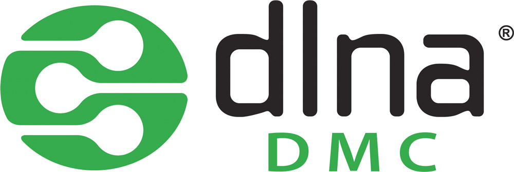 Logo DLNA / DMC (Digital Media Controler)