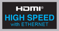 Certification HDMI High Speed With Ethernet
