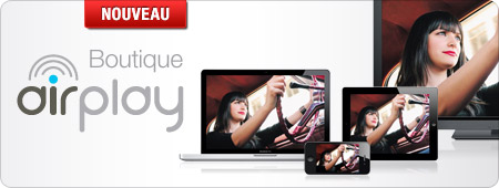 Apple AirPlay : la boutique