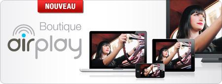 Apple AirPlay : la boutique