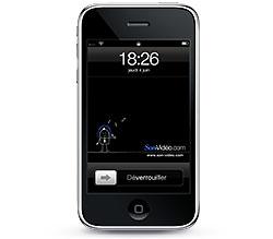 Fonds d\'écran iPhone Son-Vidéo.com noir
