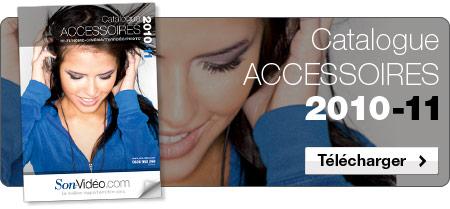 Nouveau Catalogue Accessoires Son-Vidéo.com