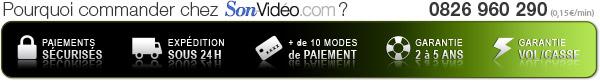 Pourquoi commander chez Son-Vidéo.com ?