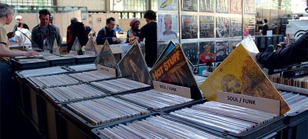 La convention vinyle organisée par Vinyle Expo.